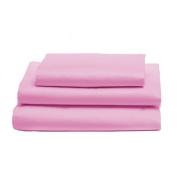 bkb Toddler Sheet Set, Pink