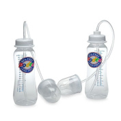 New ~Podee Hands Free Baby Bottle System ~ (Twin Pack 2)- 270ml Bottles