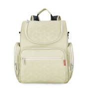 Nappy Backpack with Changing Pad Travel Nappy Bag for Mummy and Dad