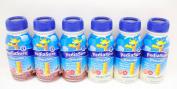 PediaSure Grow & Gain Vanilla & Chocolate Shakes 6 (240ml) Bottles - Small Storage Space Friendly!