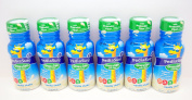 PediaSure Grow & Gain Vanilla Shakes With Prebiotic Fibre 6 (240ml) Bottles - Small Storage Space Friendly!