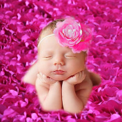 PePeng Newborn Photography Props, Use Soft 3D Rose Flower Backdrop Beanbag Rug to Create Memorable Kids Portrait Photography