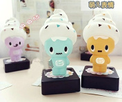 Rainbowkids Baby nursery Ice Cream Lamps USB Children Night Light Switch Bedside Table Lamp, Baby Feeding Battery Nightlight Kids Toys As Business Family Gift,4 Colour For Choosing