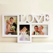 Picture Frame Plastic Tabletop Hanging Picture Multi-Photo Collage Frame For Wedding Gift Home Decor 1 Pcs
