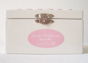 Sandra Magsamen Department 56 Musical Hinged Box - Pink Girl
