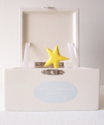 Sandra Magsamen Department 56 Musical Hinged Box - Blue Boy