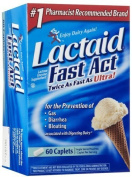 Lactaid Fast Act Lactase Enzyme Supplement, EconomyPack Pack of 192 Count