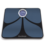 BLUEWEIGH Smart Body Composition Analyzer, Scale Mesures - Body Weight, Body Fat content, Body Muscle Weight, Body Water Content, Body Bone Mass, Visceral Fat, BMI and BMR