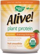 Alive! USDA Organic Plant Protein Smoothie, Tropical Mango, 0.4kg