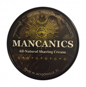 Mancanics All Natural Shaving Cream