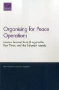 Organising for Peace Operations