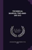 Technical Manual Tm3-6665-205-10/2