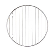 Mrs. Anderson's Baking Professional Round Baking and Cooling Rack, Heavyweight Chrome, 15cm