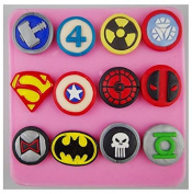 HT BAKEWARE   The Avengers Flag Series Silicone Mould