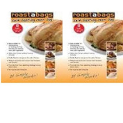 Original Self Basting Oven Bags for all meats and vegeatables 25cm x 38cm 2 packs 8 bags in each