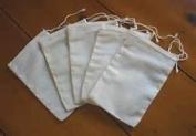Muslin tea bags ~ 10 empty bags to make tea