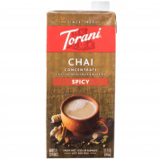Torani 950ml Spicy Chai Concentrate