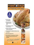 Self basting Oven Roaster Bags 46cm x 60cm For Turkey and Large Roasts 5.1cm package