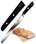 "DALSTRONG Bread Knife - Gladiator Series - German Steel - 10"""