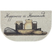 Traditional Kitchen-themed 46cm x 80cm Slice Kitchen Mat Rugs
