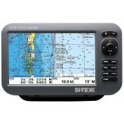 SI-TEX SVS-1010C 25cm Chartplotter w/Internal GPS Antenna & Navionics+ Card
