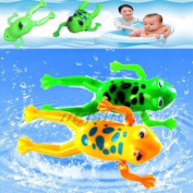 Bathroom Tub Bathing Toy Wind UP Plastic Bath Frog Pool For Baby kids