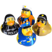 Assorted Police Law Enforcement Rubber Duckies