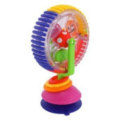 Sassy Wonder Wheel Baby Toy Rattle Spin Ages  .   Best Toy Award