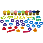 Stamp 'n Shape Toolkit with Cutters and Roller, Multi