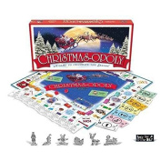 Christmas-Opoly (ChristmasOpoly) A Christmas themed Monopoly Game NEW and SEALED