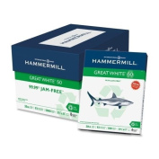 Hammermill Great White Copy Paper 8.5 x 11 - 50% Recycled 9.1kg 92Bright 5000 Sheets per Carton - 40 Cartons per Pallet