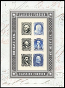 NEW The Classic Era Pane of Six Forever Stamps By USPS
