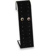 Black Earring Stand Display - 12 Pairs Jewellery Display