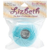 Lizbeth Cordonnet Cotton Size 80-Ocean Teal Medium