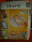 McCall's Sewing Pattern 2824 Craft Baby Covers and Organisers
