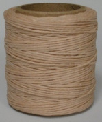 Maine Thread - .130cm Natural Waxed Polycord. 60m each. Includes 2 spools.