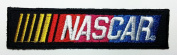 Nascar Patches 9.8x2.5 Cm Sew/iron on Patch to Cloth, Jacket, Jean, Cap, T-shirt and Etc.