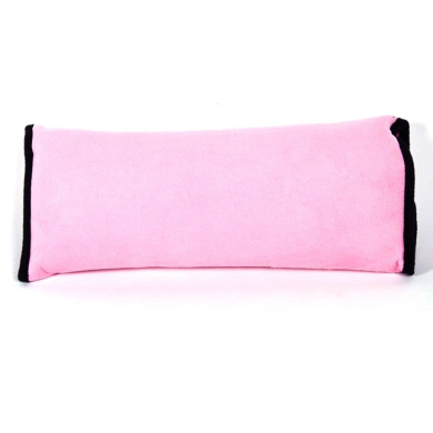 Car Belt Pillow,Beyoung (TM) Children Baby Safety Strap Plush Soft Cushion Headrest Neck Support Pillow Shoulder Cover Pad for Car Safety Seatbelt (Pink)