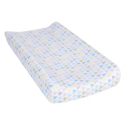 Trend Lab Triangles Multicoloured Changing Pad Cover