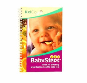 "Kidco ""Baby Steps"" Baby Feeding Instruction Book for Preparing Healthy Baby Food"