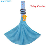 VANORIG Simple Cotton Baby Carrier, Baby Slings, Adjustable Shoulder Ring Sling Carrier, One Size Fits All, Pack of 1