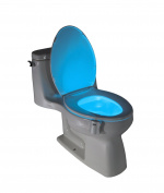 Motion Activated Toilet Night Light by Diateklity - Two Modes with 8 Colour Changing - Sensor LED Washroom Night Light - Fits Any Toilet