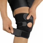 NeoProMedical Knee Support - Neoprene Breathable Knee Brace- Adjustable Size, Black Colour