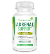 Adrenal Support Supplement with Ashwagandha and Holy Basil, designed to Balance Cortisol Levels and Reduce Stress