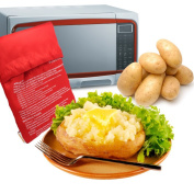 Microwave Baked Potato Cooking Bag Potato Express Washable Cooker Fast 4 Minutes For Fast Cooking