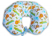 Unique 4 in 1 Premium Cotton Nursing Pillow with FREE Mini Pillow and Baby Harness