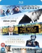 Everest/Steve Jobs/Wolf of Wall Street/Theory of Everything/... [Region B] [Blu-ray]