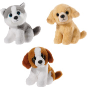 Heunec 519930 Mini Me Dog Set - Grey/White/Light Brown