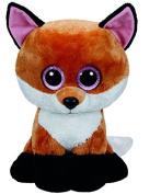 TY Beanie boo' S ty36827 - Plush Fox Slick - 41 cm