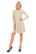 hi!mom Womens Maternity Versatile Shift Dress Long Sleeve Crew Neck Plus Sizes 8-18 FM10